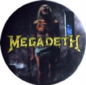 Megadeth - 'Countdown' Button Badge
